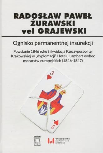 Ognisko permanentnej insurekcji. - okładka książki