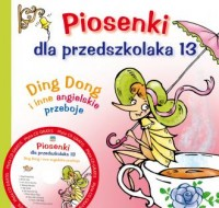 Piosenki dla przedszkolaka 13 (+ CD) - okładka książki