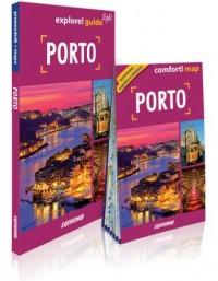 Porto. Przewodnik light   mapa - okładka książki