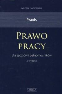 Praxis Prawo pracy dla sędziów i pełnomocników - okładka książki