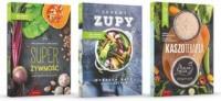 Przepisy na zdrowie Zdrowe zupy / Kaszoterapia / Super Żywność. PAKIET - okładka książki