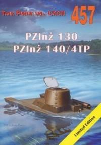 PZInż 130. PZInż 1404TP. Tank Power vol. 457 - okładka książki