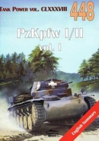 PzKpfw I/II cz.1Tank Power vol. CLXXXVIII 448 - okładka książki