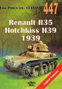 Renault R35 Hotchkiss H39 1939 CLXXXVII 447 - okładka książki
