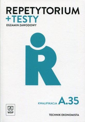 Repetytorium i testy. Egzamin zawodowy. - okładka podręcznika