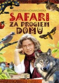 Safari za progiem domu - okładka książki