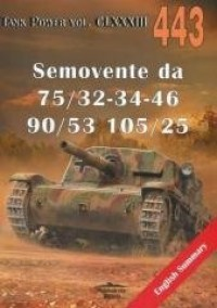 Semovente da 75/32-34-46, 90/53, 105/25 nr 443 - okładka książki