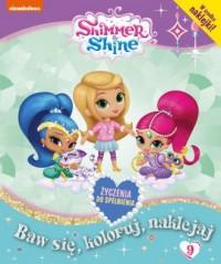 Shimmer & Shine activity  nr 9 - okładka książki