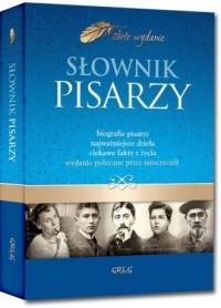 Słownik pisarzy - okładka książki