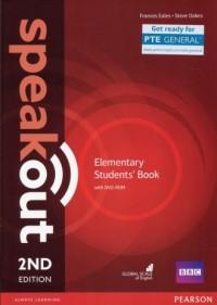 Speakout Elementary Students Book and DVD-ROM - okładka podręcznika