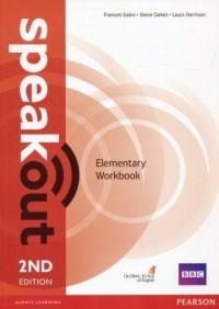 Speakout Elementary Workbook no key - okładka podręcznika