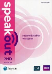 Speakout Intermediate Plus Workbook - okładka podręcznika