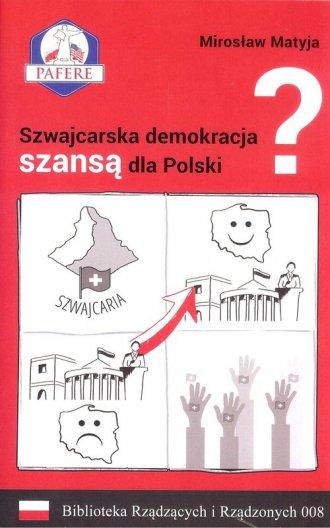 Szwajcarska demokracja szansą dla - okładka książki
