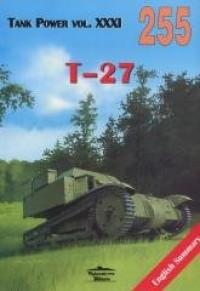 T-27. Tank Power vol. XXXI 255 - okładka książki