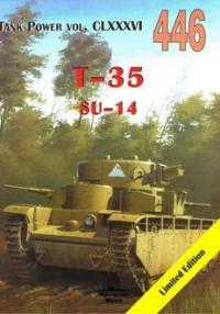 T- 35/ SU- 14. Tank Power vol. CLXXXVI 446 - okładka książki