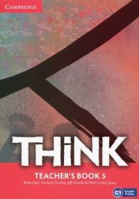 Think 5 Teachers Book - okładka podręcznika