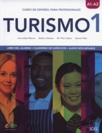 Turismo 1 A1/A2 Libro del alumno + Cuaderno de ejercicios - okładka podręcznika