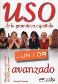 Uso de la gramatica espanola Junior avanzado - okładka podręcznika