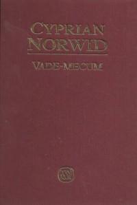 Vade-mecum. Cyprian Norwid. Seria: Źródła i monografie 264 - okładka książki