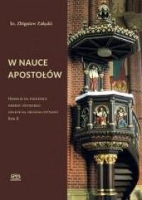 W nauce Apostołów. Rok B - ks. Zbigniew Załęcki - okładka książki