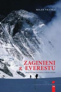 Zaginieni z Everestu - okładka książki