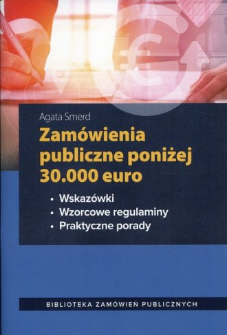 Zamówienia publiczne poniżej 30.000 - okładka książki