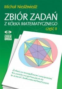 Zbiór zadań z kółka matematycznego cz. 2 OMEGA w. 2 - okładka podręcznika