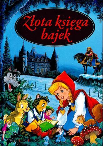 Złota księga bajek - okładka książki