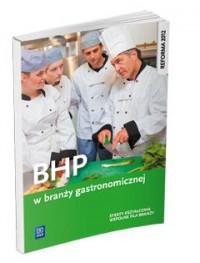 BHP w branży gastronomicznej WSiP - okładka podręcznika