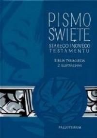 Biblia Tysiąclecia - ST i NT z ilustracjami - okładka książki