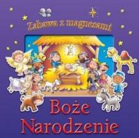 Boże Narodzenie. Zabawa z magnesami - okładka książki