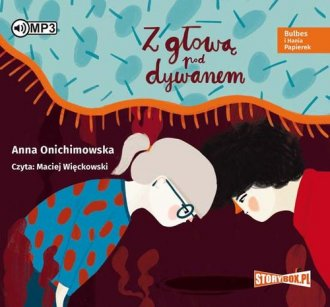 Bulbes i Hania Papierek. Z głową - pudełko audiobooku