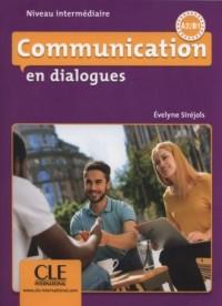 Communication en dialogues. Niveau intermédiaire - Livre   CD - okładka podręcznika