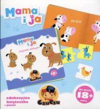 CzuCzu Mama i ja. Edukacyjna książeczka + puzzle - okładka książki