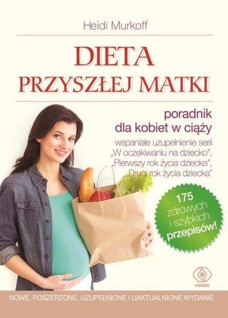 Dieta przyszłej matki - okładka książki