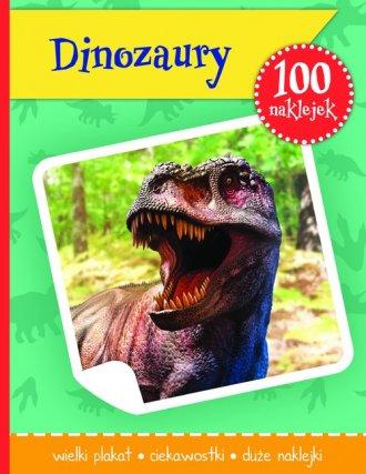 Dinozaury. Książeczka z plakatem - okładka książki
