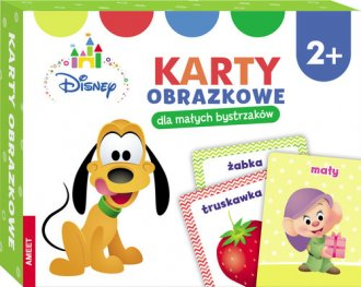 Disney Maluch Karty Obrazkowe Dla - okładka książki
