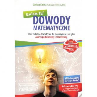 Dowody matematyczne NW. Zbiór zadań - okładka podręcznika
