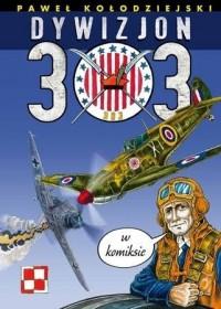 Dywizjon 303 w komiksie - okładka książki