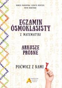 Egzamin ośmioklasisty z matematyki. - okładka podręcznika