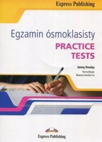 Egzamin ósmoklasisty. Practice Tests   CD - okładka podręcznika