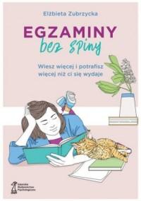 Egzaminy bez spiny - okładka książki