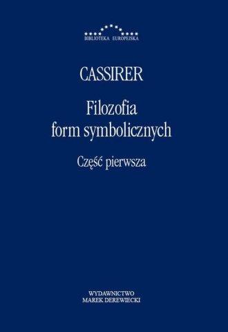 Filozofia form symbolicznych cz. - okładka książki