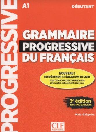 Grammaire progressive du français - okładka podręcznika