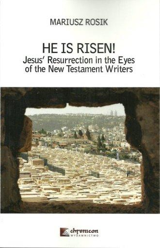He Is Risen! Jesus Resurrection - okładka książki