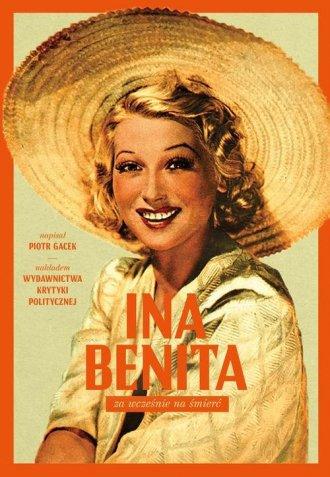 Ina Benita. Za wcześnie na śmierć - okładka książki