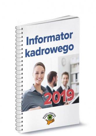 Informator kadrowego 2019 - okładka książki