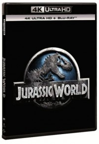 Jurassic World 4K UHD+Blu Ray - okładka filmu