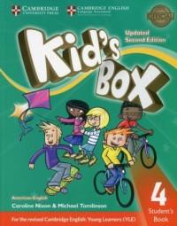 Kids Box 4 Students Book American English - okładka podręcznika