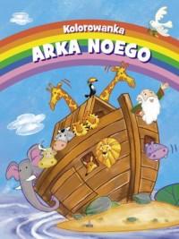 Kolorowanka. Arka Noego farbki i pędzelek w zestawie - okładka książki